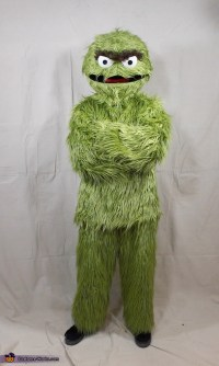 Oscar the Grouch Adult Costume - Photo 5/7
