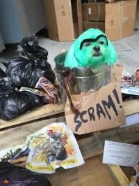 Oscar the Grouch Dog Costume - Photo 2/2
