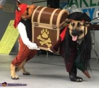 Pirate Thieves Dog Costume