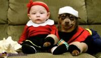 Popeye and Olive Oyl Halloween Costume
