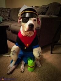 Popeye and Olive Oyl Dog Costumes - Photo 3/5