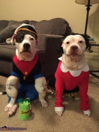 Popeye and Olive Oyl Dog Costumes - Photo 4/5
