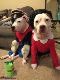 Popeye and Olive Oyl Dog Costumes - Photo 5/5