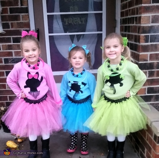 3 Girl Group Costume Ideas