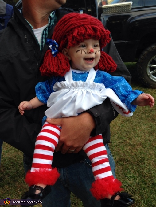 Awesome Raggedy Ann Baby Costume Photo 2  sc 1 st  Cosmetik.co & raggedy ann and andy makeup | Cosmetik.co