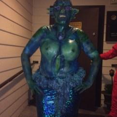 Wheelchair Lights Orange Adirondack Chair Sea Siren Adult Costume