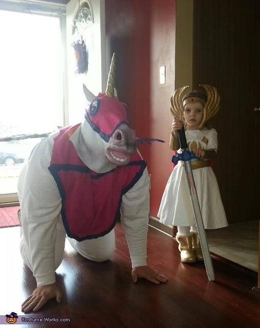SheRa and Swift Wind Homemade Halloween Costumes
