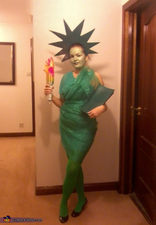 Image result for statue of liberty diy costume