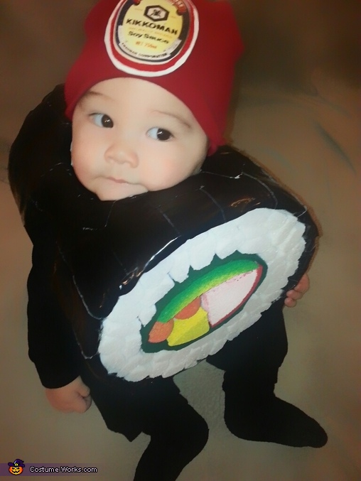 Sushi Roll Costume
