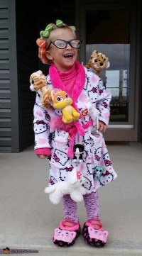 The Crazy Cat Lady Girl's Costume