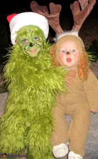 The Grinch and his Dog Max Costume