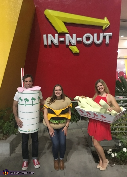 The In N Out Burger Number One Group Costume