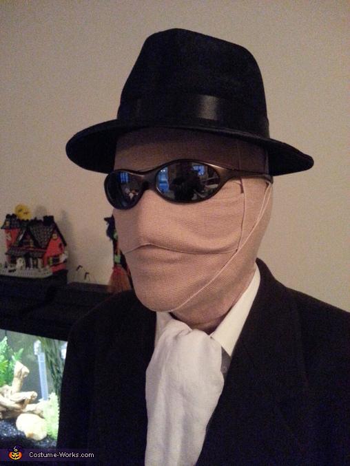 The Invisible Man Costume Idea