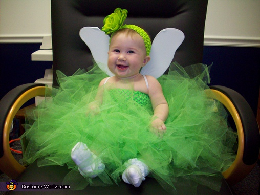 Tinkerbell - Homemade costumes for babies