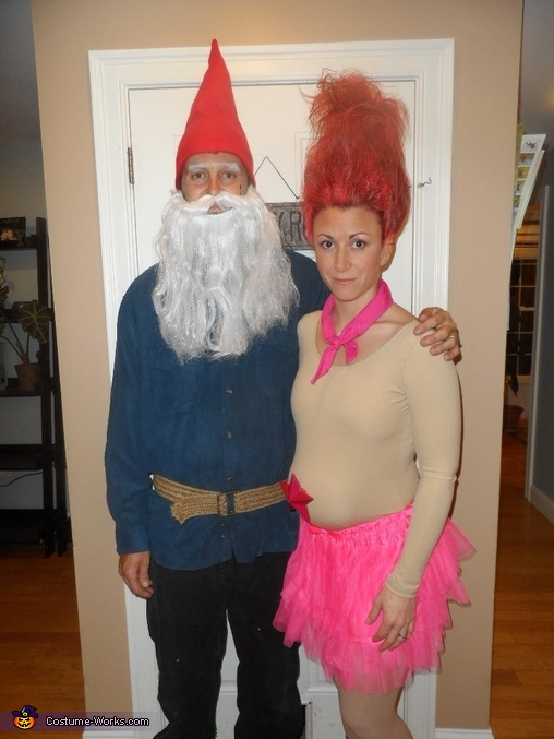 Treasure Troll And Garden Gnome Halloween Costumes