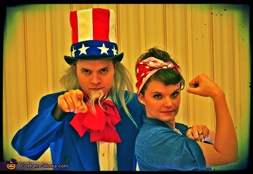 wheelchair olympics old hickory tannery chair uncle sam and rosie halloween costume