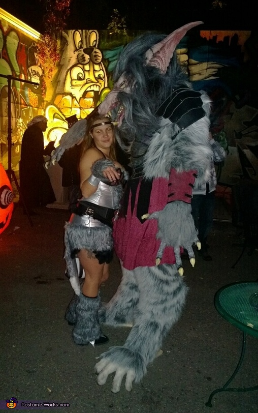 WarWolf Costume