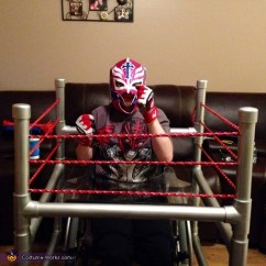 Make Up Chair Covers Argos Wrestler In Ring Costume