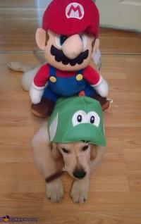Yoshi Dog Costume - Photo 3/9