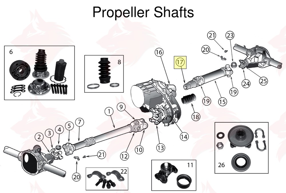 Article pour model 83503574 Joug for Jeep ZJ/ZG Grand