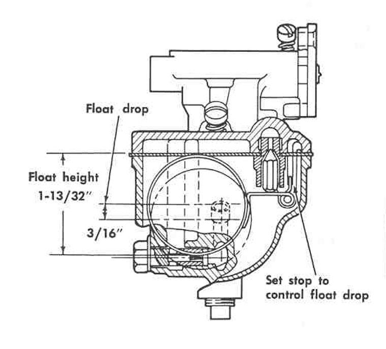 farmall h carburetor parts diagram
