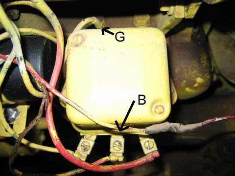 ford 4000 tractor wiring diagram subaru legacy radio voltage regulator location on a kohler engine | get free image about