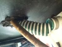 Water tank filler hose rotted | PopUpPortal