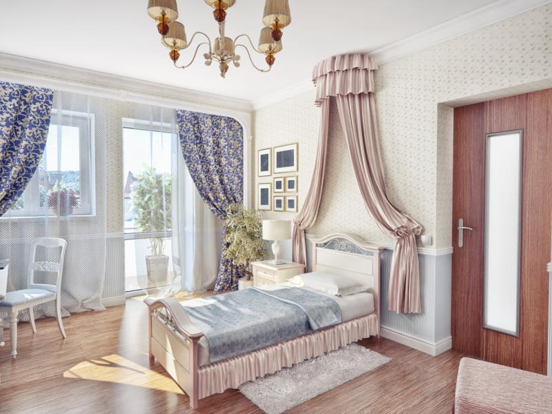 diy decorative bed crown