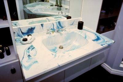 How To Repair Chips In A Faux Marble Sink Home Guides