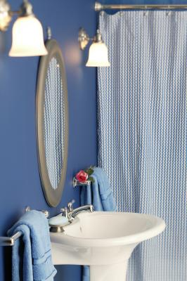 How To Install Spring Loaded Shower Curtain Rods Home Guides SF Gate
