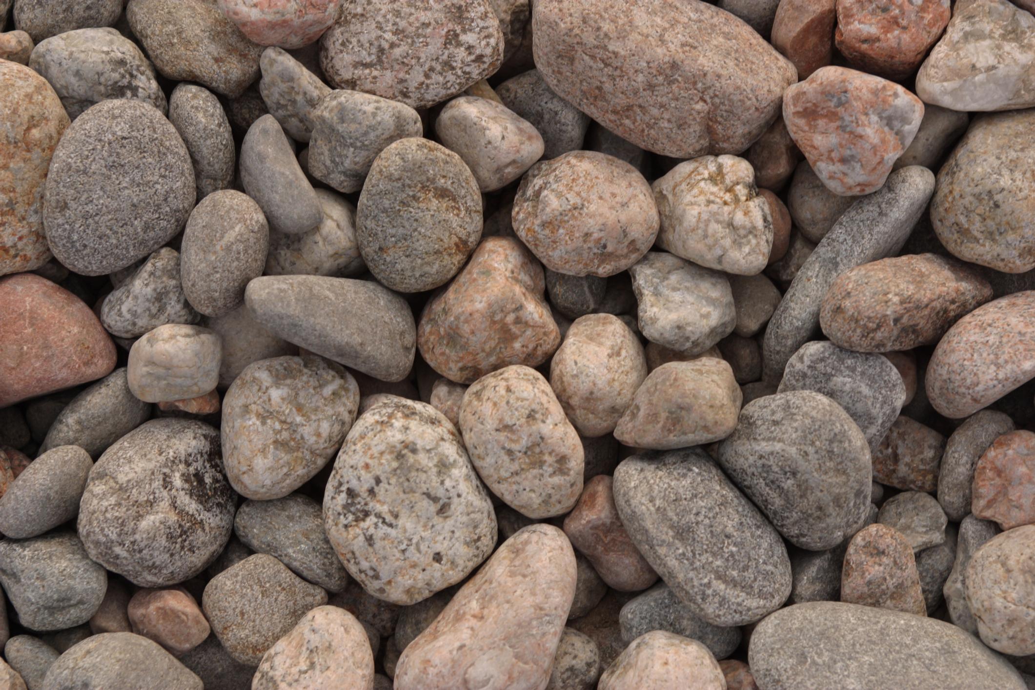 Piedras De Rio Para Decoracion Jardines Decorados Con