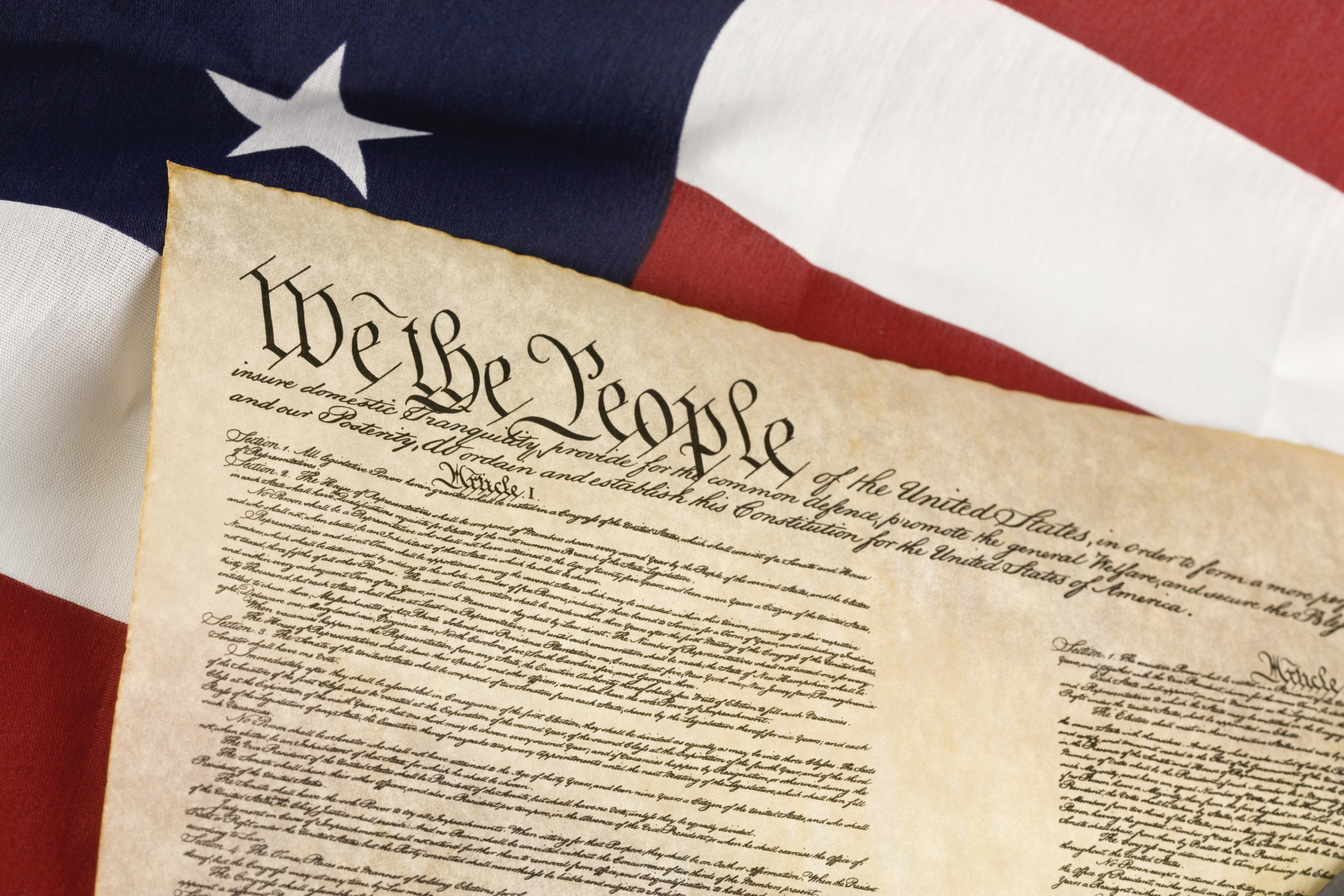 What Are The Words In The Preamble Of The Constitution