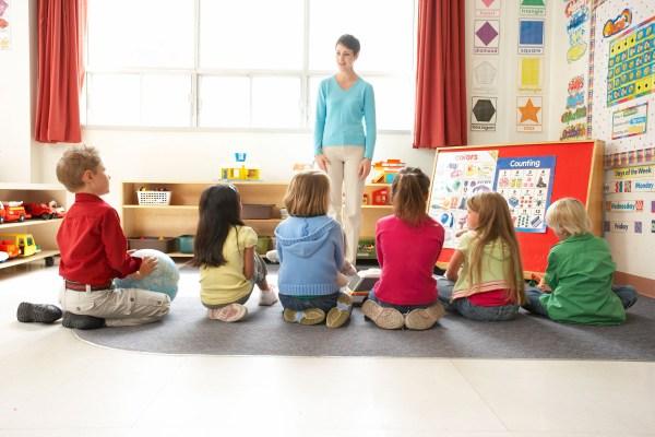 Preschool Classroom Circle Time Activity