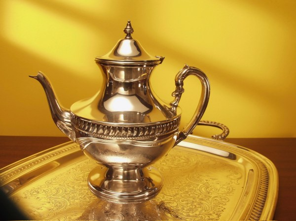 Of Sterling-silver Tea Set Pastimes