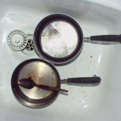 Rohl Kitchen Sinks Cabinet Software How To Remove Pot Marks From A Sink | Home Guides Sf Gate