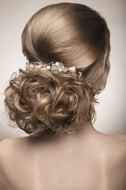 Hochsteckfrisuren mittellange Haare  desiredde