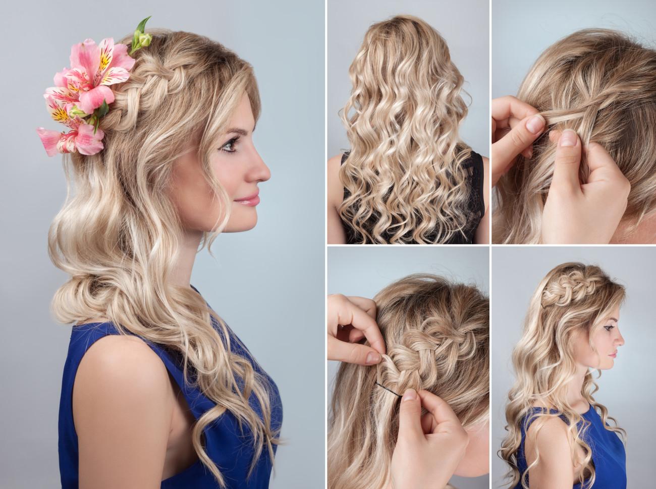 Romantische Frisuren 6 X Bilder & Anleitungen Desired De