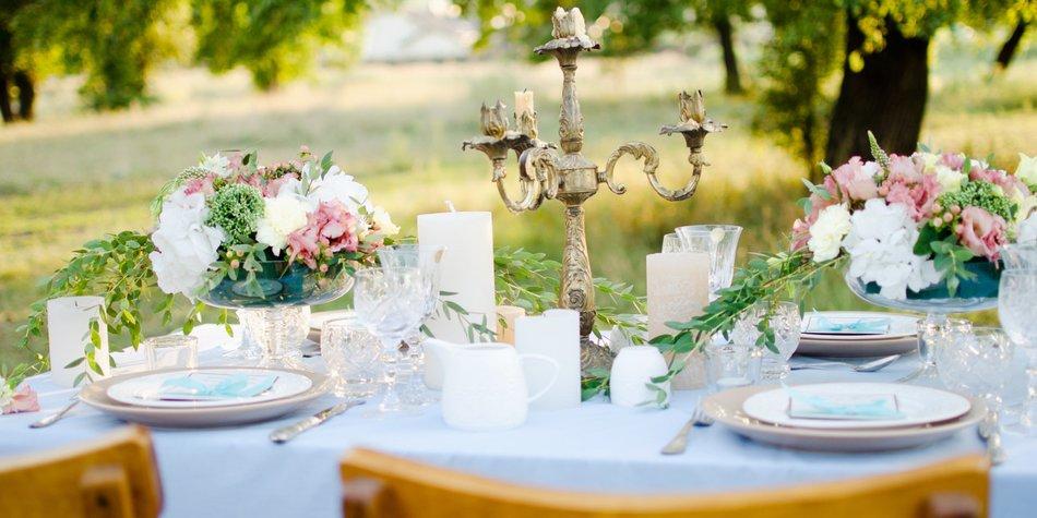 Tischdeko fr Hochzeit selber machen 27 Ideen  desiredde