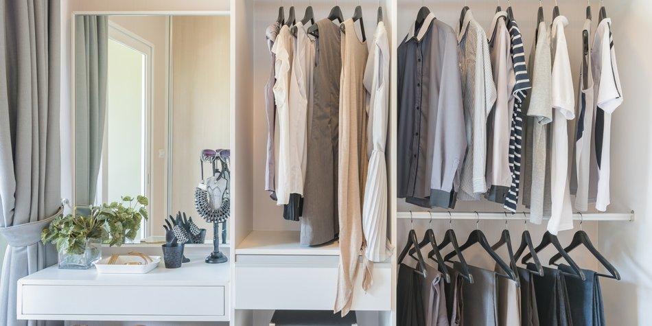 Begehbarer Kleiderschrank Ideen zum DIYBauen  desiredde