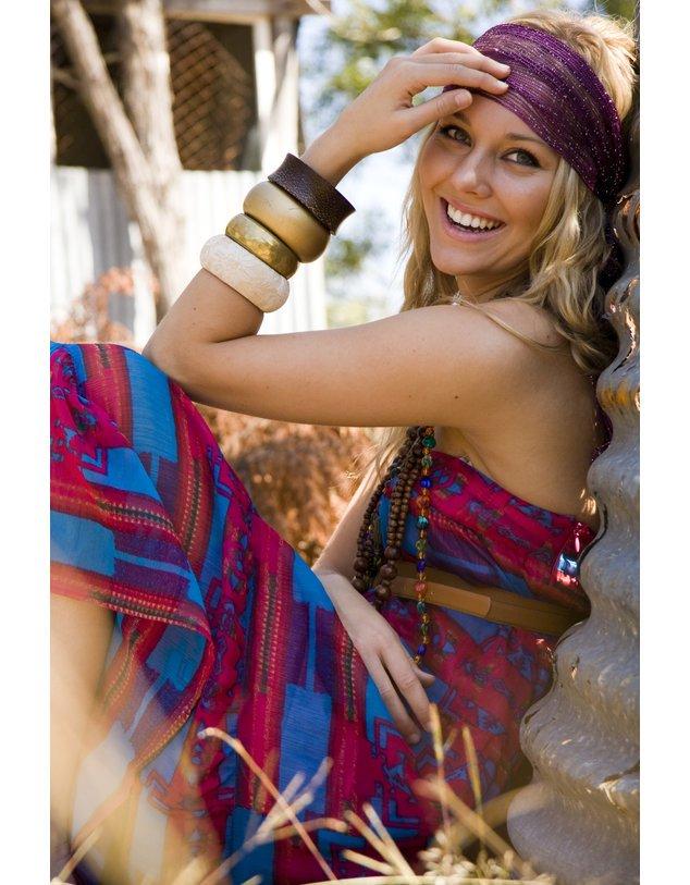 der hippie style ist