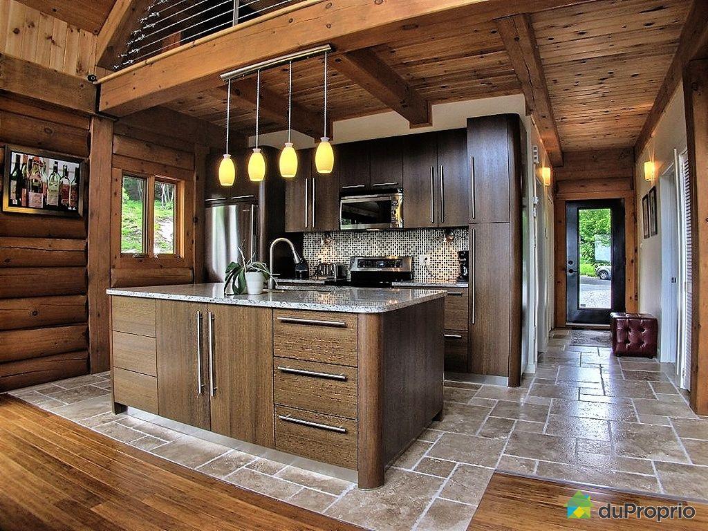 Cuisine Style Chalet Montagne | Deco Chambre Chalet Montagne ...