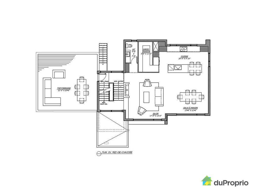 Plan construction maison quebec for Cout moyen construction maison
