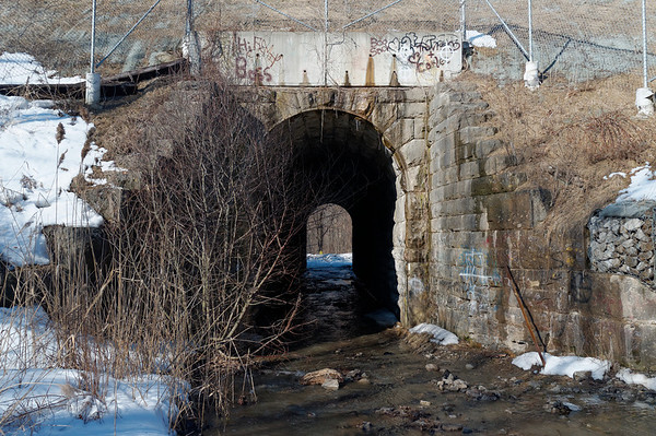We were supposed to cross through this tunnel but due to water levels, we went another route