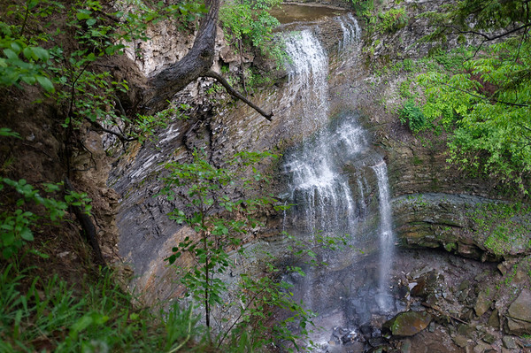 The final highlight, Felkner's Falls.