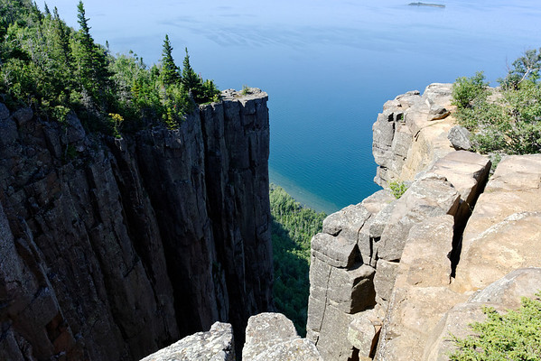 Chimney Cliffs of Sleeping Giant Provincial Park