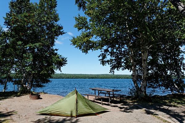 Best Campsite in Sleeping Giant Provincial Park