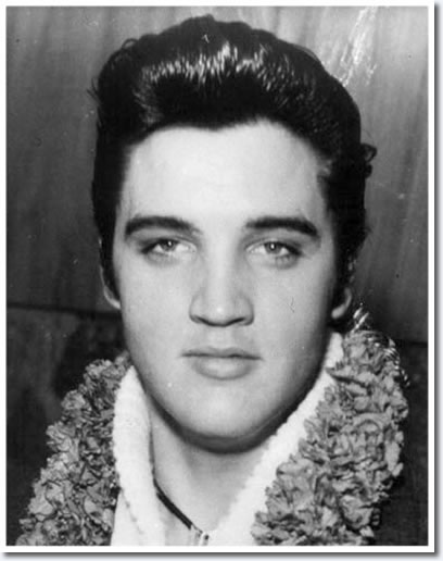 Elvis Presley, November 9, 1957 - Honolulu Hawaii