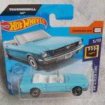 Hot Wheels 65 Ford Mustang Convertible 007 Thunderball Carro Mattel Nunca Usado 43512211 Enjoei