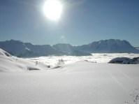 Neige poudreuse fraiche et grand soleil à l'Alpe d'Huez