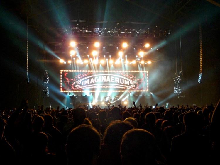 Tournée Imaginaerum du groupe Nightwish à Lyon en 2012.
